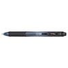 EnerGel-X Retractable Roller Gel Pen, .7mm, Black Barrel/Ink, Dozen