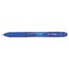 EnerGel-X Retractable Roller Gel Pen, .7mm, Blue Barrel/Ink, Dozen