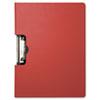 "Portfolio Clipboard With Low-Profile Clip, 1/2"" Capacity, 11 x 8 1/2, Red"
