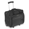 Rolling Laptop Case, 1200D Polyester, 16-1/2 x 7-1/2 x 14, Black