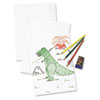 White Drawing Paper, 57 lbs., 24 x 36, Pure White, 250 Sheets/Carton
