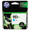 951XL Ink Cartridge, Cyan (CN046AN)