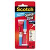Single Use Super Glue, 1/2 Gram Tube, Liquid, 2/Pack