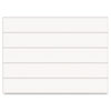 """Dry Erase Magnetic Tape Strips, White, 6"""" x 7/8"""", 25/Pack"""