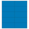 """Dry Erase Magnetic Tape Strips, Blue, 2"""" x 7/8"""", 25/Pack"""