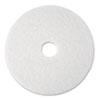 "Super Polish Floor Pad 4100, 17"", White, 5/Carton"
