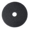 3M(TM) Black Stripper Floor Pads 7200