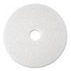 "Super Polish Floor Pad 4100, 13"", White, 5/Carton"