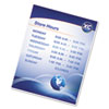 Fellowes(R) Self-Adhesive Laminating Pouches