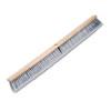 "Floor Brush Head, 3"" Gray Flagged Polypropylene Bristles, 36"" Brush"