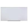 Dry Erase Board, Melamine, 96 x 48, Satin-Finished Aluminum Frame