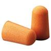 Foam Single-Use Earplugs, Cordless, 29NRR, Orange, 200 Pairs