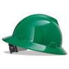 V-Gard Hard Hats, Fas-Trac Ratchet Suspension, Size 6 1/2 - 8, Green