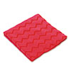 HYGEN Microfiber Cleaning Cloths, 16 x 16, Red, 12/Carton