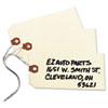 """Shipping Tags, Manila, Wired, 5 1/4"""" x 2 5/8"""", 1000/BX"""