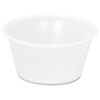 Plastic Soufflé/Portion Cups, 2oz, Translucent, 200/Bag, 12 Bags/Carton