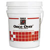 Once Over Floor Stripper, Mint Scent, Liquid, 5 gal. Pail