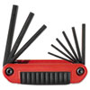 Eklind(R) Ergo-Fold(TM) Hex Key Set 25911