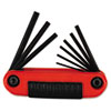 Eklind(R) Ergo-Fold(TM) Hex Key Set 25912