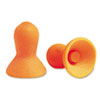 Quiet Multiple-Use Earplugs, Cordless, 26NRR, Orange/Blue, 100 Pairs