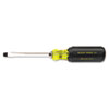 Klein Tools(R) Heavy-Duty Slotted Keystone-Tip Cushion-Grip Screwdriver 600-4