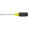Klein Tools(R) Slotted Cabinet-Tip Cushioned Grip Screwdriver 601-4
