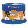 White DVD R Disc, 4.7 GB, 16x, 50/PK