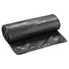 "Low-Density Waste Can Liners, 16 gal, 0.35 mil, 24"" x 32"", Black, 500/Carton"