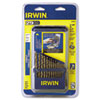 IRWIN(R) Cobalt High Speed Steel Drill Bit Set 3018002