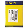 IRWIN(R) Black and Gold HSS Fractional Drill Bit 3019008B