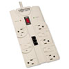 Protect It! Surge Suppressor, 8 Outlets, 8 ft Cord, 2160 Joules, TAA Compliant