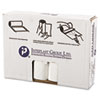 High-Density Can Liner, 33 x 39, 33gal, 16mic, Clear, 25/Roll, 10 Rolls/Carton
