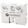 High-Density Can Liner, 38 x 60, 60gal, 17mic, Clear, 25/Roll, 8 Rolls/Carton