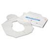 Health Gards Toilet Seat Covers, Half-Fold, White, 250/Pack, 4 Packs/Carton