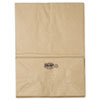 1/6 57# Paper Bag, 57lb Kraft, Brown, 12 x 7 x 17, 500/Bundle