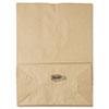 1/6 75# Paper Bag, 75lb Kraft, Brown, 12 x 7 x 17, 400/Bundle