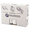 High-Density Can Liner, 40 x 48, 45gal, 16mic, Clear, 25/Roll, 10 Rolls/Carton