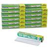 "Kitchen Charm Wax Paper Roll, 11 9/10"" x 75ft, White, 24/Carton"