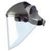 """High Performance Face Shield Assembly, 7"""" Crown Ratchet, Noryl, Gray"""