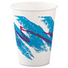 Jazz Paper Hot Cups, 12oz, Polycoated, 50/Bag, 20 Bags/Carton