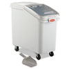ProSave Mobile Ingredient Bin, 31 1/4gal, 15 1/2w x 29 1/2d x 28h, White