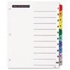 Table 'n Tabs® Dividers with Multicolor Tabs, 1-10 Tab