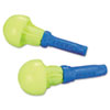 E·A·R Push-Ins Earplugs, Corded, 28NRR, Yellow/Blue, 200 Pairs