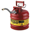 JUSTRITE(R) AccuFlow(TM) Safety Can