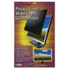 """Secure View LCD Monitor Privacy Filter For 21.5"""" Widescreen"""