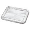 Steam Table Pan Foil Lid, Fits Half-Size Pan, 10 7/16 x 12 1/5