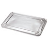 Steam Table Pan Foil Lid, Fits Full Size Pan, 20 13/16 x 12, 50/CT