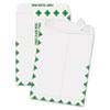 Redi-Strip Catalog Envelope, 9 x 12, First Class Border, White, 100/Box