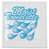 Fresh Nap Moist Towelettes, 4 x 7, White, 1000/Carton