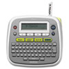 P-Touch PT-D200 Label Maker, 2 Lines, 6-1/2w x 6-1/10d x 2-7/10h